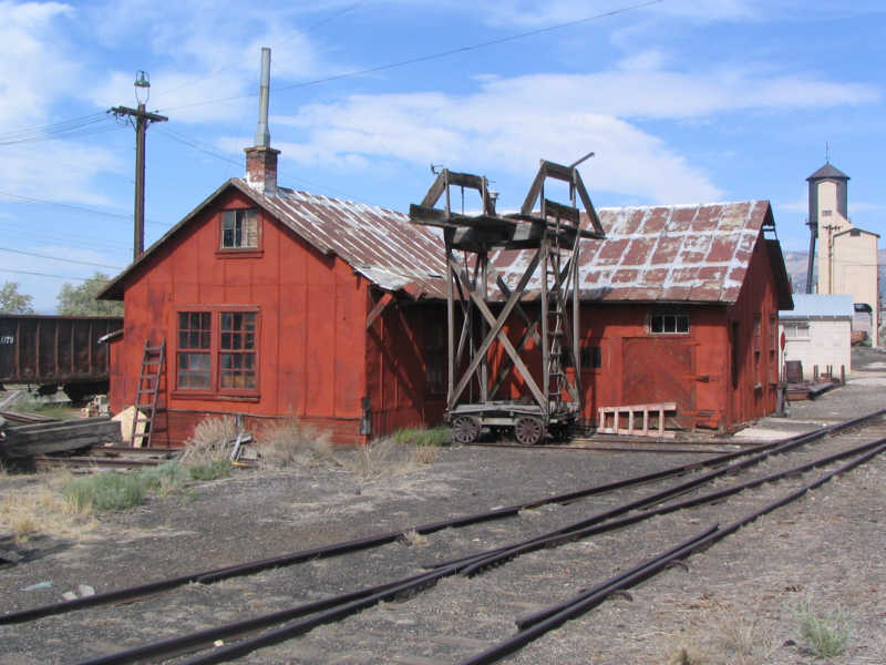 Northern Nevada RR, carpenter's shop