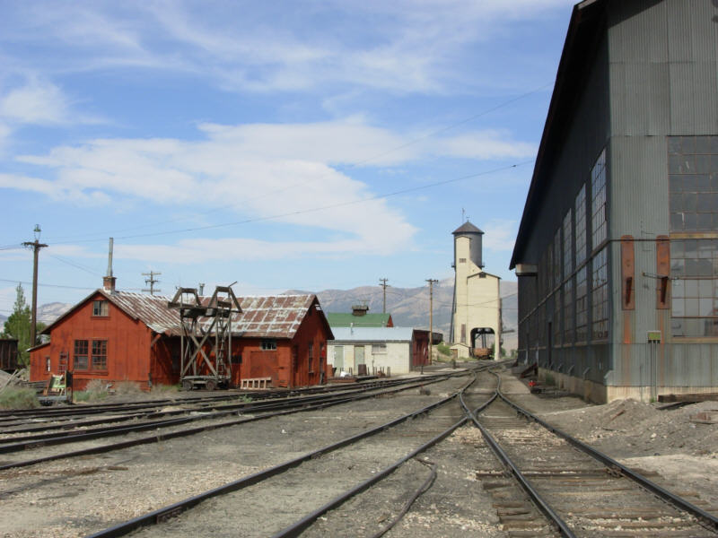 Northern Nevada RR shops