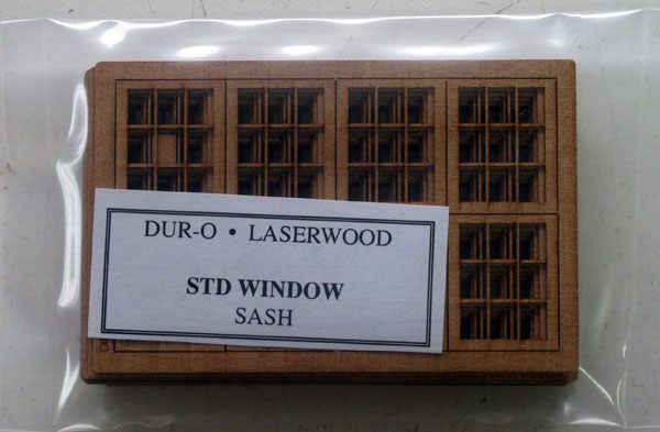laser-cut window sashes