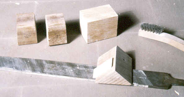 photo of file and square blocks.