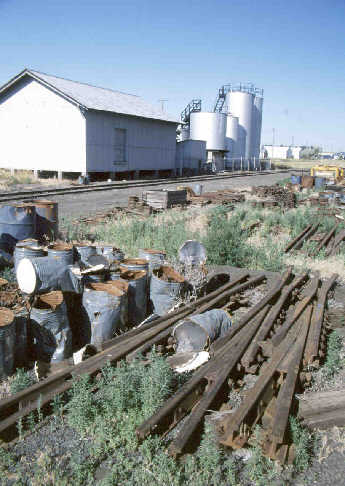 A fuel oil depot, central Washington.