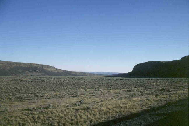 Moses Coulee, central Washington.