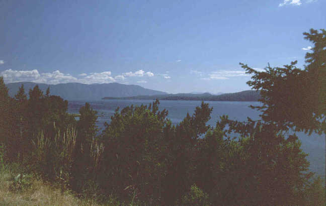Pend Oreille Lake.