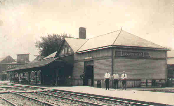 The Pennsylvania RR depot in Loudonville, Ohio.