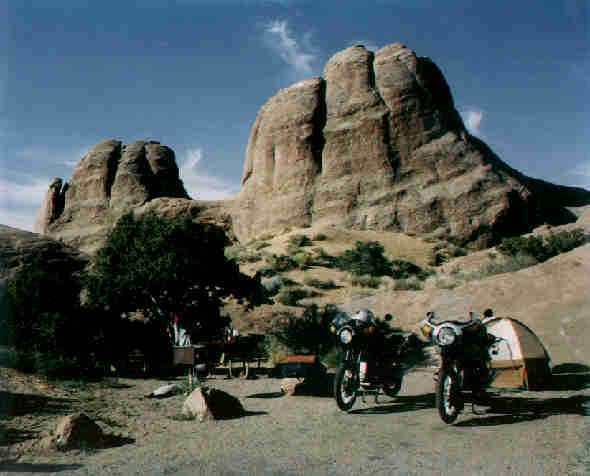A-48, Arches National Park, the perfect campsite.