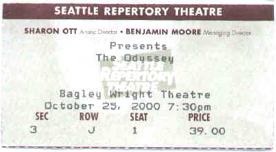 Seattle Rep ticket