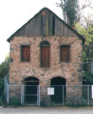 The Stone Shingle Mill. A front view of the prototype. It is being restored.