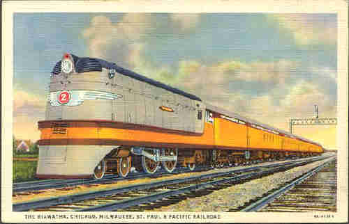 Milwaukee Road streamliner