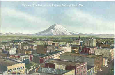 View of Tacoma, Wash.