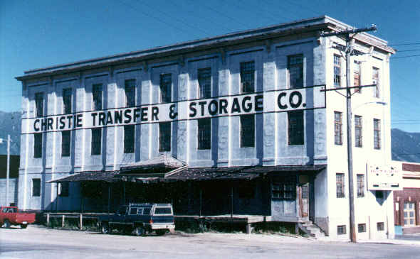 Christie Transfer and Storage, Butte, Montana.