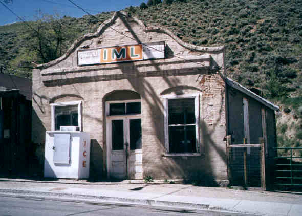 IML building, Austin, Nevada.